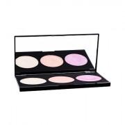 Makeup Revolution London Highlighting Powder Palette paletka 3 rozjasňovačů 15 g pro ženy