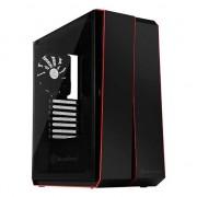 Carcasa desktop natec Linia Rosie RL07, negru (SST-RL07B-G)