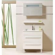 Premium White 75 Fürdőszobaszekrény komplet