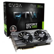 Placa video EVGA GeForce GTX 1080 FTW GAMING ACX 3.0, 1721(1860) MHz, 8GB GDDR5X, 256-bit, DVI-D, 3x DP, 1x HDMI