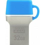 Stick USB GOODRAM ODD3, 32GB, USB 3.0 (Albastru/Argintiu)