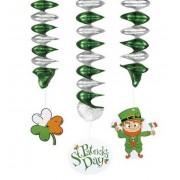 St Patricks Day hangdecoraties 3 stuks