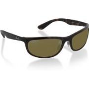 Ray-Ban Rectangular Sunglasses(Silver)