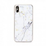 Carcasa Forcell Marble Huawei P Smart 2019 White