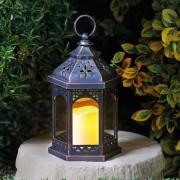 Kerti elemes Marokkói lámpás 24 cm