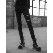 Pantalon pour femme PUNK RAVE - Girl Stalker - OPK-209 BK