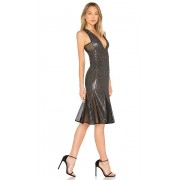 X by NBD Cheryl Temples Dress in Black. - size XXS (also in L,M,S,XS)