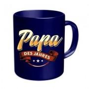 geschenkidee.ch Papa des Jahres Tasse