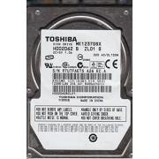 "Toshiba 120GB Serial ATA 120GB Serial ATA II Disco Duro (2.5"", 120 GB, 5400 RPM, Serial ATA II, 8 MB, Unidad de Disco Duro)"