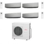 - Kit installazione climatizzatore 5m Tubo in Rame BIPOLAR accoppiato 1/4 - 3/8, Tubo Scarico Condensa, Supporti Antivibranti