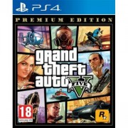 Игра Grand Theft Auto V (GTA V) Premium Edition за PS4