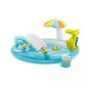 Piscina gonflabila Gator cu jucarii centru de joaca Intex
