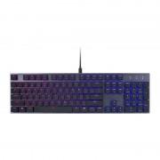 Tastatura gaming Cooler Master SK650 RGB Cherry MX Low Profile Red