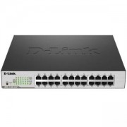 Комутатор D-Link 24-Port PoE Gigabit Smart Switch, DGS-1100-24P