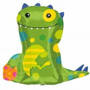 Balon folie figurina Friendly Monster - 61cm, Amscan 22987