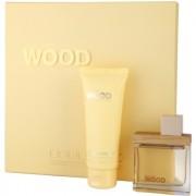 Dsquared2 She Wood Golden Light Wood lote de regalo I. eau de parfum 50 ml + leche corporal 100 ml
