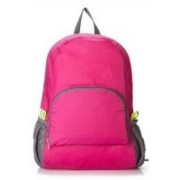 Flipzone Folding Backpack for Travel, Hiking Backpacks 10 L Backpack(Yellow, Blue, Pink)