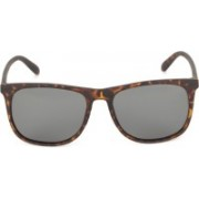 Polaroid Rectangular Sunglasses(Grey)
