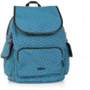 Kipling CITY PACK S Real Teal Emb,F 13 L Backpack(Blue)