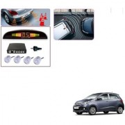 Auto Addict Car Silver Reverse Parking Sensor With LED Display For Hyundai Grand i10