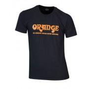 Orange T-Shirt Logo M