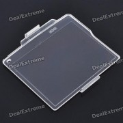cubierta de protector de pantalla dura a prueba de agua para Nikon D7000 / BM-11 LCD