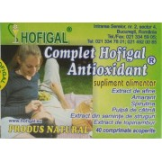 Hofigal Complet Antioxidant (40 Comprimate)