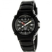 Casio Enticer Analog Black Dial Mens Watch - HDA-600B-1BVDF (A508)