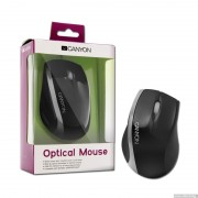 Mouse, CANYON CNR-MSO01NS, Black/Silver