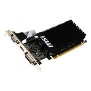 Видеокарта MSI GeForce GT 710 954Mhz PCI-E 2.0 1024Mb 1600Mhz 64 bit DVI HDMI HDCP Low Profile GT 710 1GD3H LP