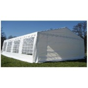 Classic Plus Partytent PVC 6x8x2 mtr in Wit