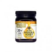 OPTIMA Manuka honey Active Gold 20+ 250 g OPTIMA - VitaminCenter