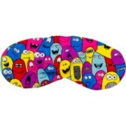 The Crazy Me Fun monsters Travel Mask Eye Shade(Multicolor)