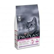 PURINA Pro Plan Gatto Delicate, Crocchette Per Gatti Adulti, Ricco In Tacchino, Confezione 400g