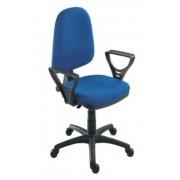 Forgószék kárpitozott ülő és hátlappal Megane LX kék
