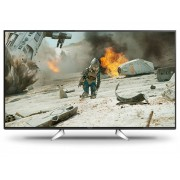 Panasonic TX-49EXW604 LED-TV 123 cm 49 inch Energielabel A DVB-T2, DVB-C, DVB-S, UHD, Smart TV, WiFi, PVR ready Zwart, Zilver