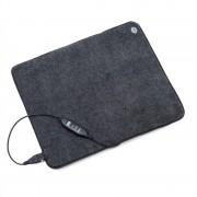 OneConcept Magic Carpet DLX, подложка за отопление, 60 x 70 см, 190 W, 4 температури, таймер, антрацит (CPT9-MC-DLX-190)