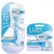 Gillette Combi Venus Quench Apparaat en 2 + 4 mesjes