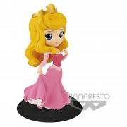 Banpresto Figura Q-Posket Princesa Aurora La Bella Durmiente (14 cm) (vestido rosa) - Banpresto