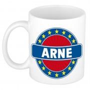 Shoppartners Voornaam Arne koffie/thee mok of beker