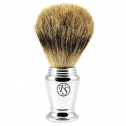 Frank Shaving Blaireau chromé pure badger