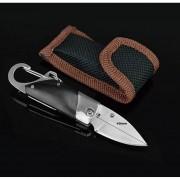 ER-cuchillo De Acero Inoxidable Cuchillo Plegable Al Aire Libre De 11 Cm