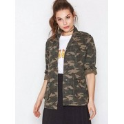 NLY Trend Field Jacket Parkasjackor Kamouflage