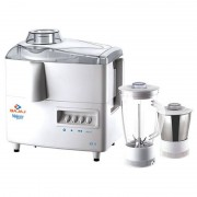 Bajaj Majesty JX4 450-Watt Juicer Mixer Grinder with 2 Jars