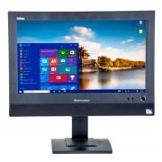 Lenovo ThinkCentre M72Z 20 inch LED, Intel Core i3-3220 3.30 GHz, 4 GB DDR 3, 500 GB HDD, DVD-RW, Webcam, All-in-one, Windows 10 Pro MAR