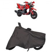 De AutoCare Premium Quality Grey Matty Two Wheeler Bike Body Cover for Honda Navi Off-Road