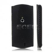 Sony Ericsson Xperia Neo Твърд Капак Черен + Протектор