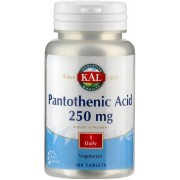 KAL Pantothensäure 250 mg - 100 Tabletten