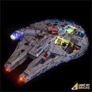 LIGHT MY BRICKS Kit for 75192 Millennium Falcon