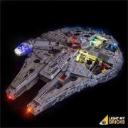 LIGHT MY BRICKS Kit for 75192 Millennium Falcon